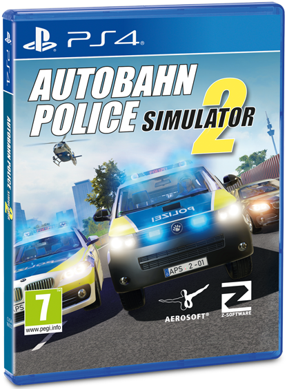 Packshot Autobahn Police Simulator 2 for PS4
