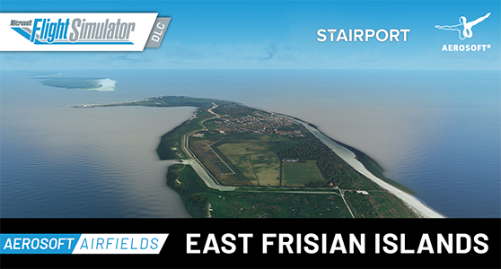 Packshot AEROSOFT AIRFIELDS East Frisian Islands