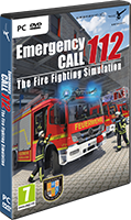 Packshot Emergency Call 112 - The Fire Fighting Simulation