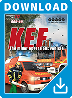 Packshot Emergency Call 112 Add-on KEF - The minor operations vehicle