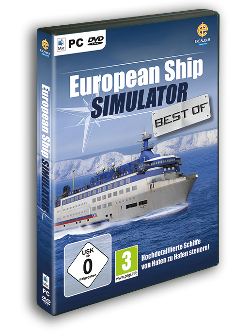 Packshot European Ship Simulator Best-of