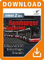Packshot OMSI 2 Add-on Hamburger Buspaket