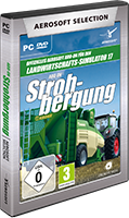 Packshot Aerosoft Selection - LS17 Add-on Strohbergung