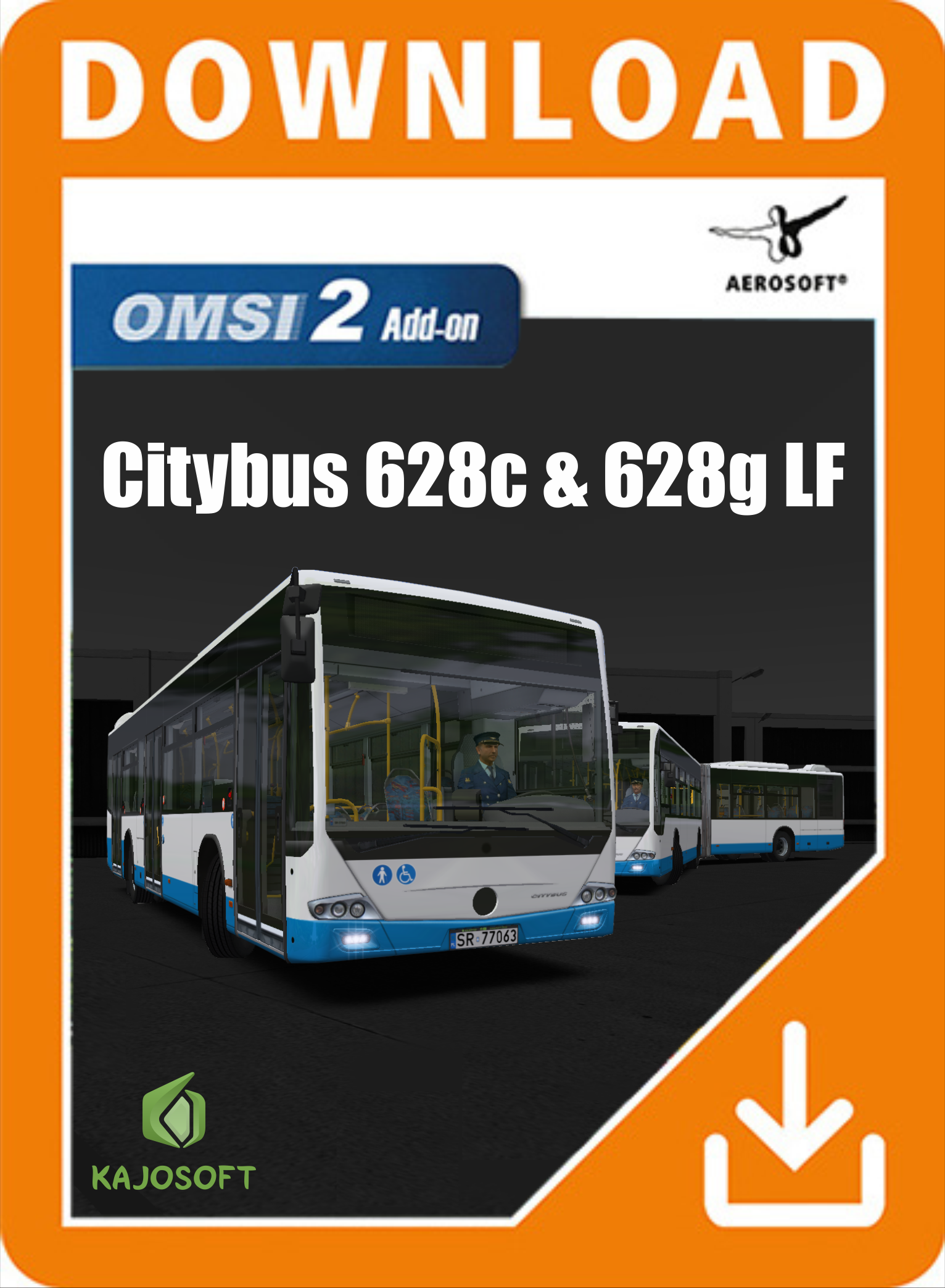 Packshot OMSI 2 Add-on Citybus 628c 628g LF