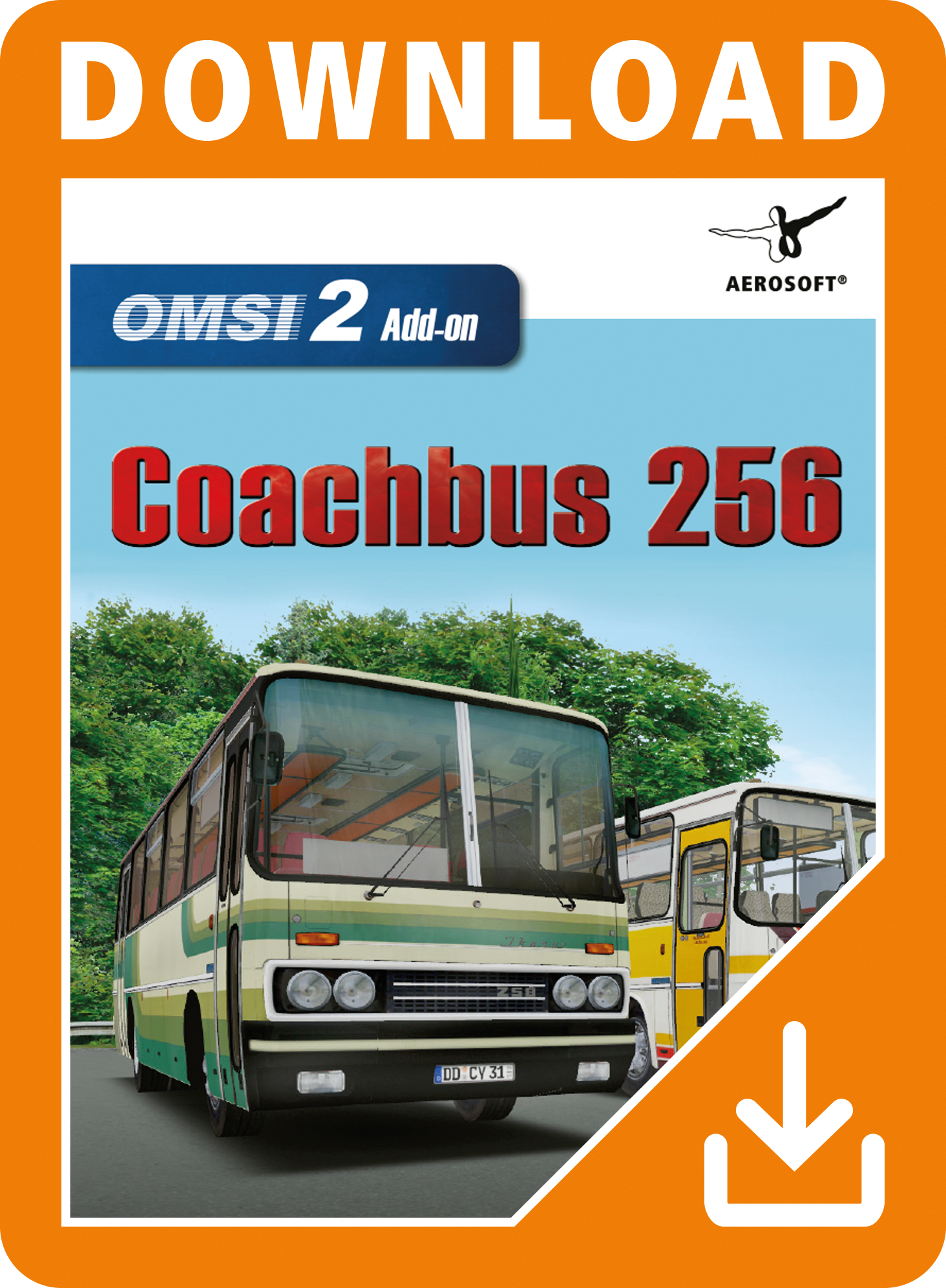 Packshot OMSI-2 Add-on Coachbus 256
