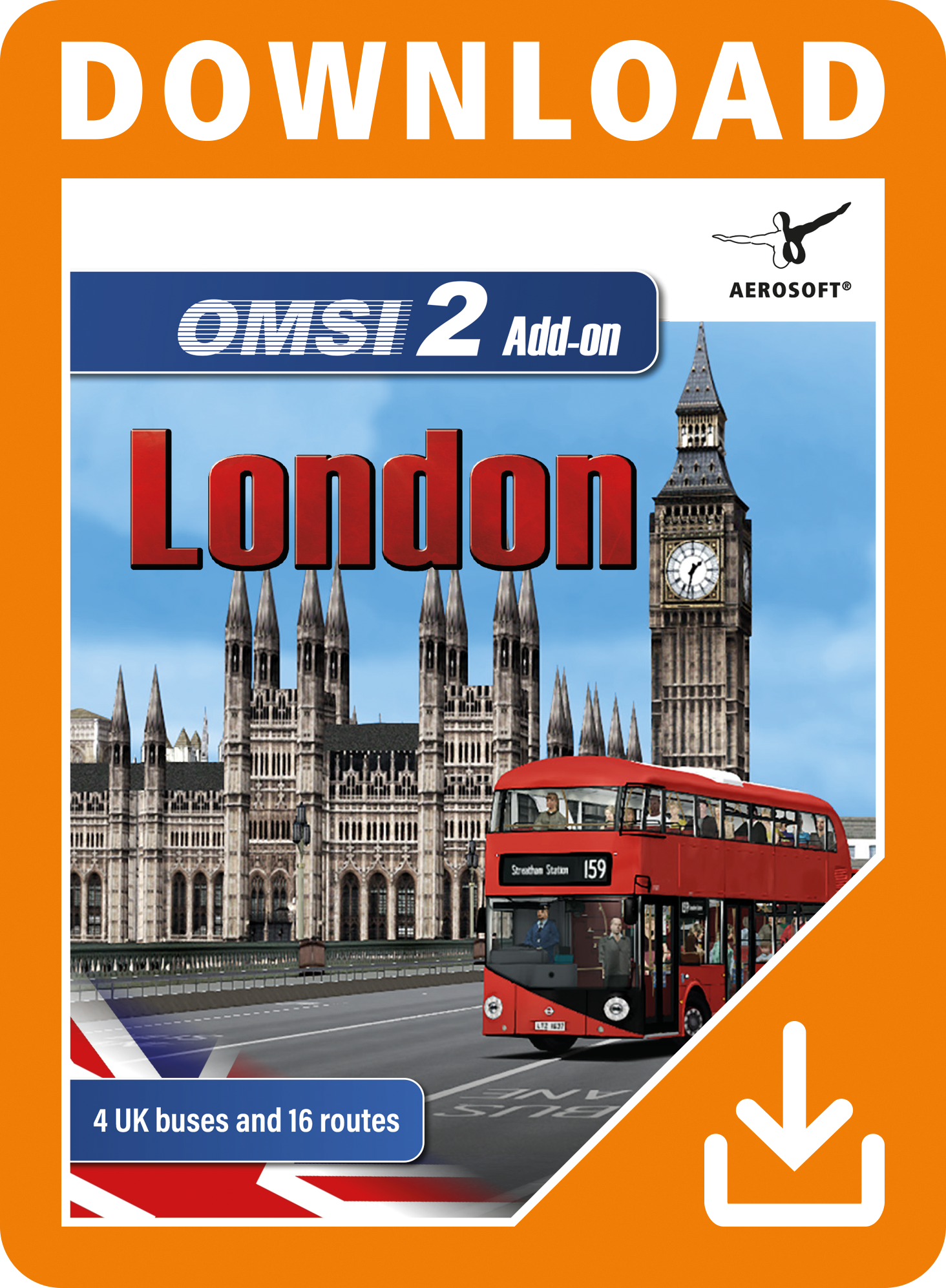 Packshot OMSI 2 Add-On London