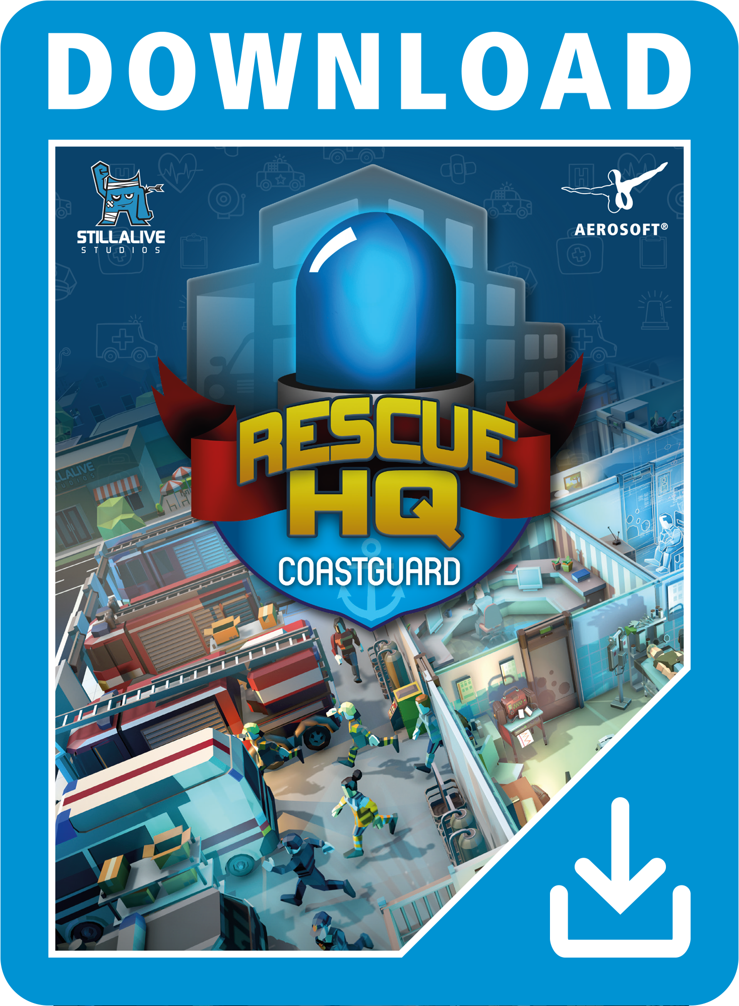 Packshot Rescue HQ DLC - Coastguard