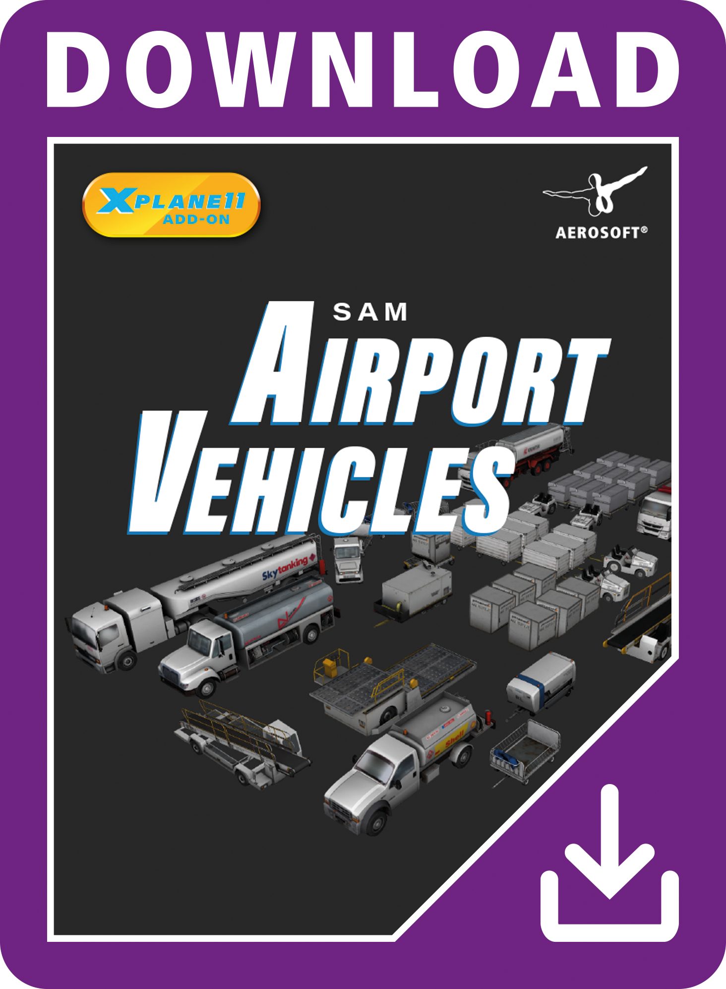 Packshot SAM AirportVehicles