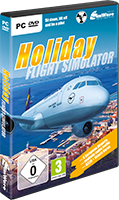 Packshot Holiday Flight Simulator