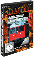Packshot London Underground Hot Price