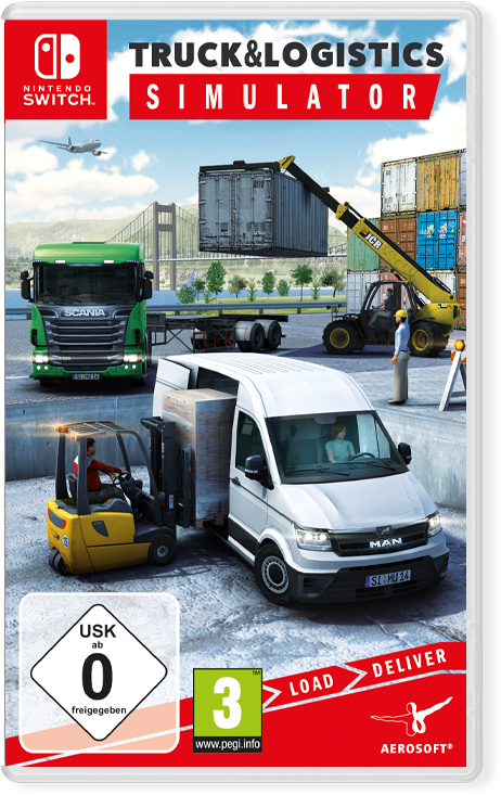 Packshot Truck & Logistics Simulator (Switch)