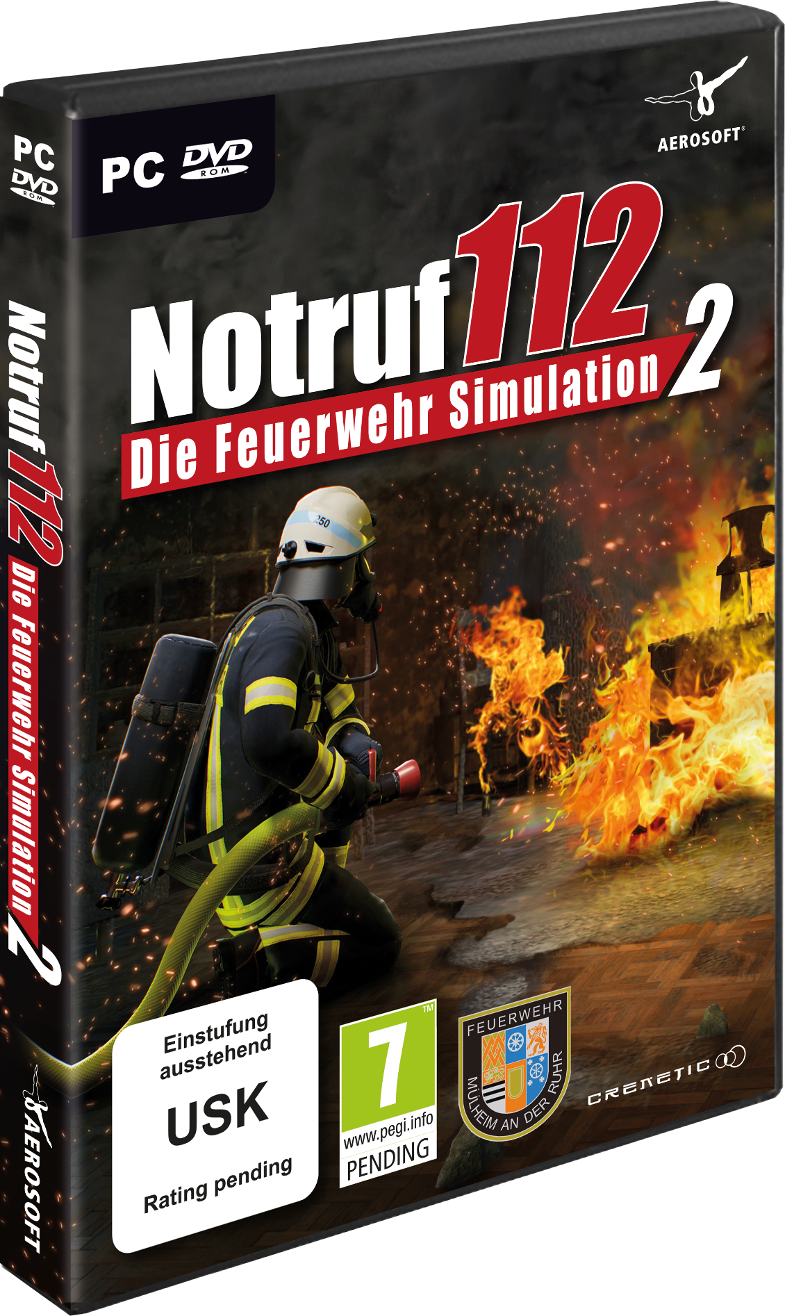 Packshot Emergency Call 112 - The Fire Fighting Simulation 2