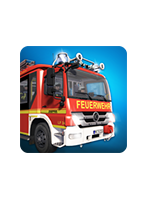 Packshot Emergency Call 112 App - The Fire Fighting Simulation