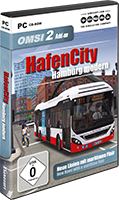 Packshot OMSI 2 add-on HafenCity - Hamburg modern