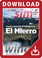 Packshot Sim-wings - Canary Islands professional - El Hierro