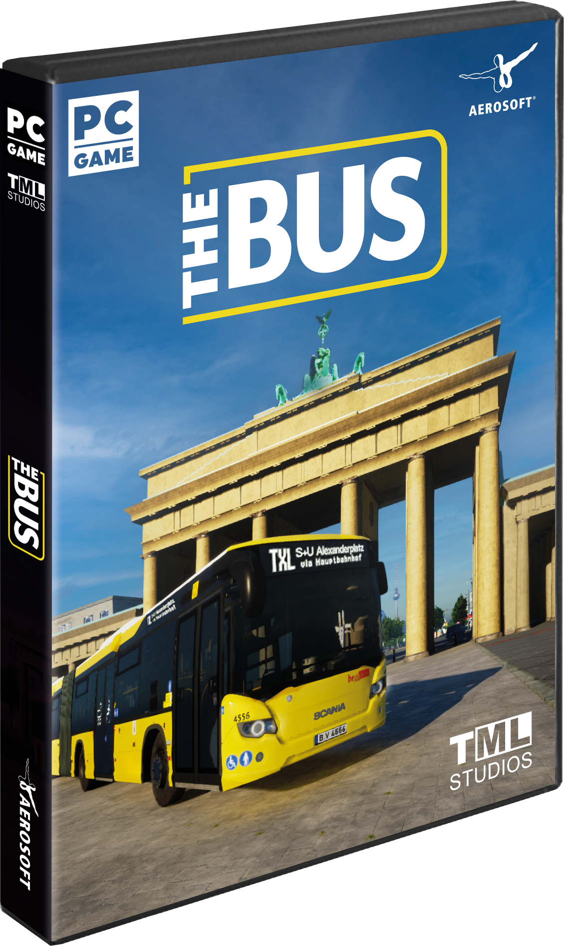 Packshot The Bus (Early Access)
