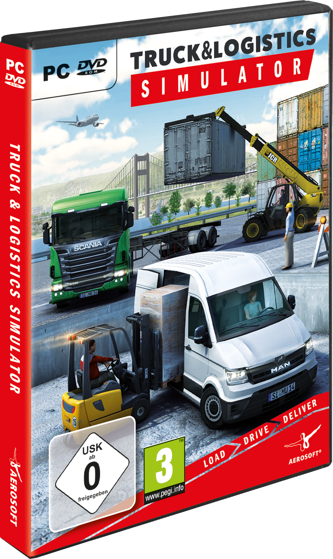 Packshot Truck & Logistics Simulator (PC)