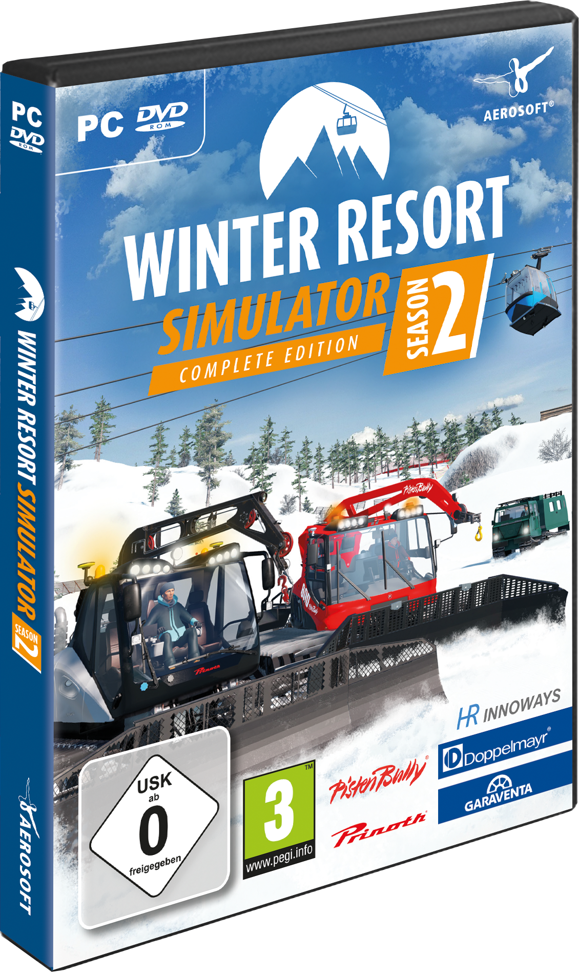 Packshot Winter Resort Simulator Season 2 – Complete Edition