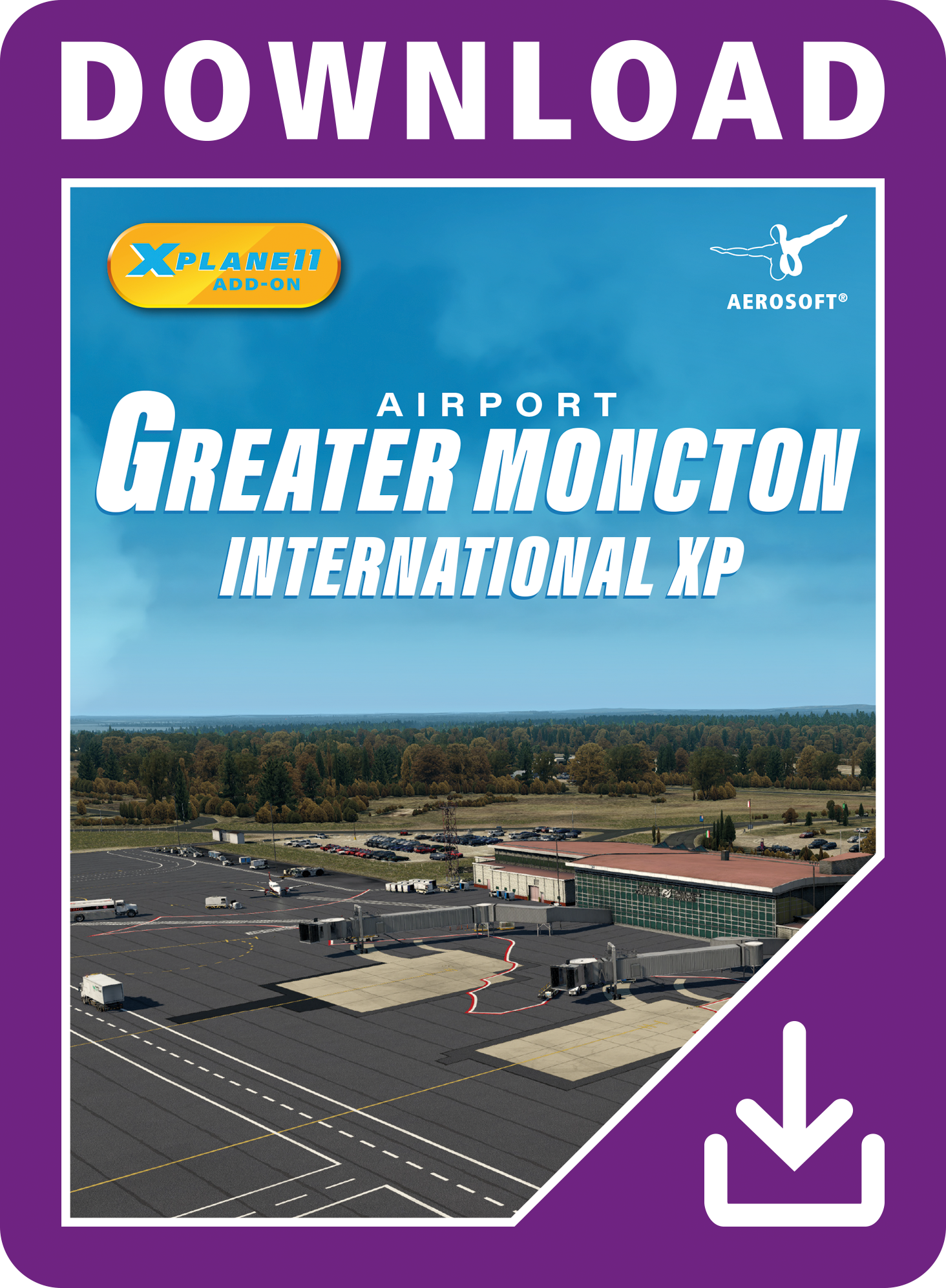 Packshot Airport Greater Moncton International