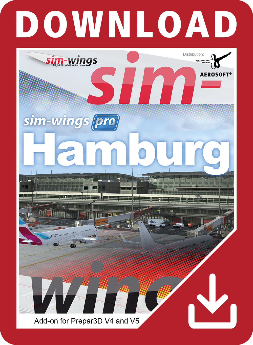 Packshot Sim-wings pro Hamburg
